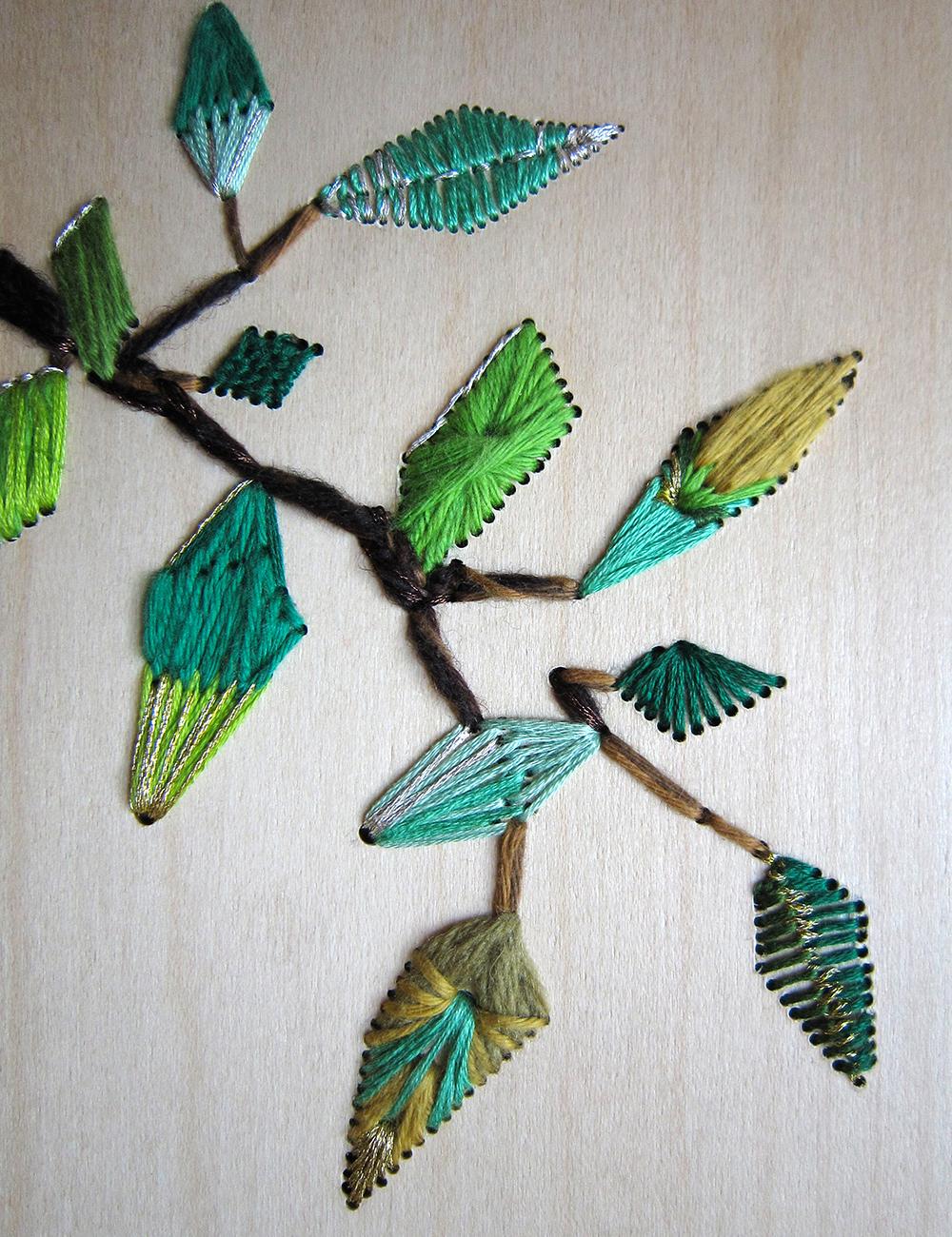 aurelie wozniak creatrice plasticienne artiste designer broderie sur bois arborescence hetraie. Black Bedroom Furniture Sets. Home Design Ideas